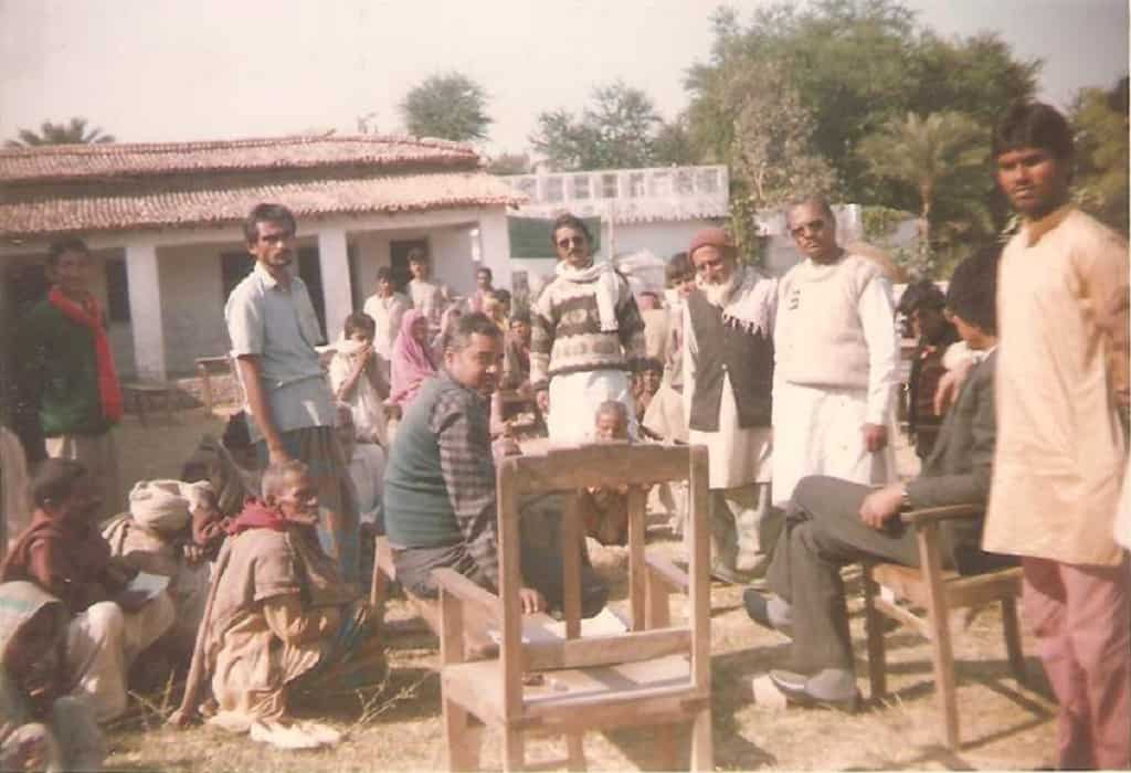 Organized Free Camp in Villages